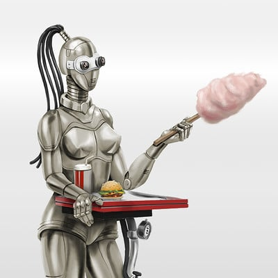 Anna khudorenko 20171231 robot diner chrome