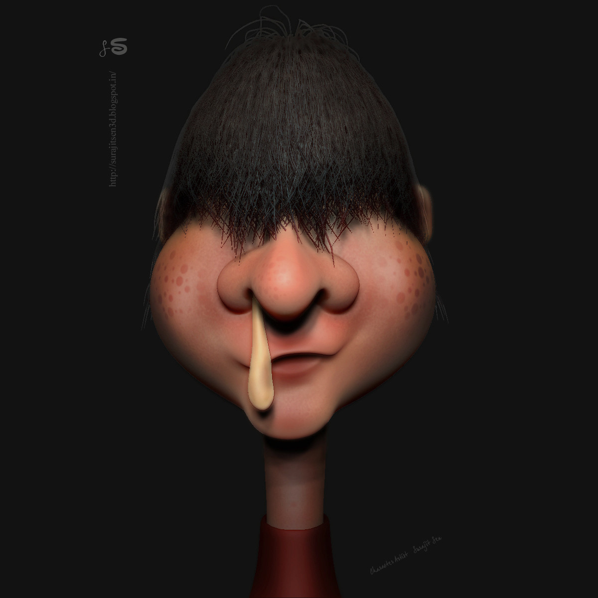#doodle  #quicksculpt My Weekend doodle ........fun with brushes!...;) Sorry for the concept!