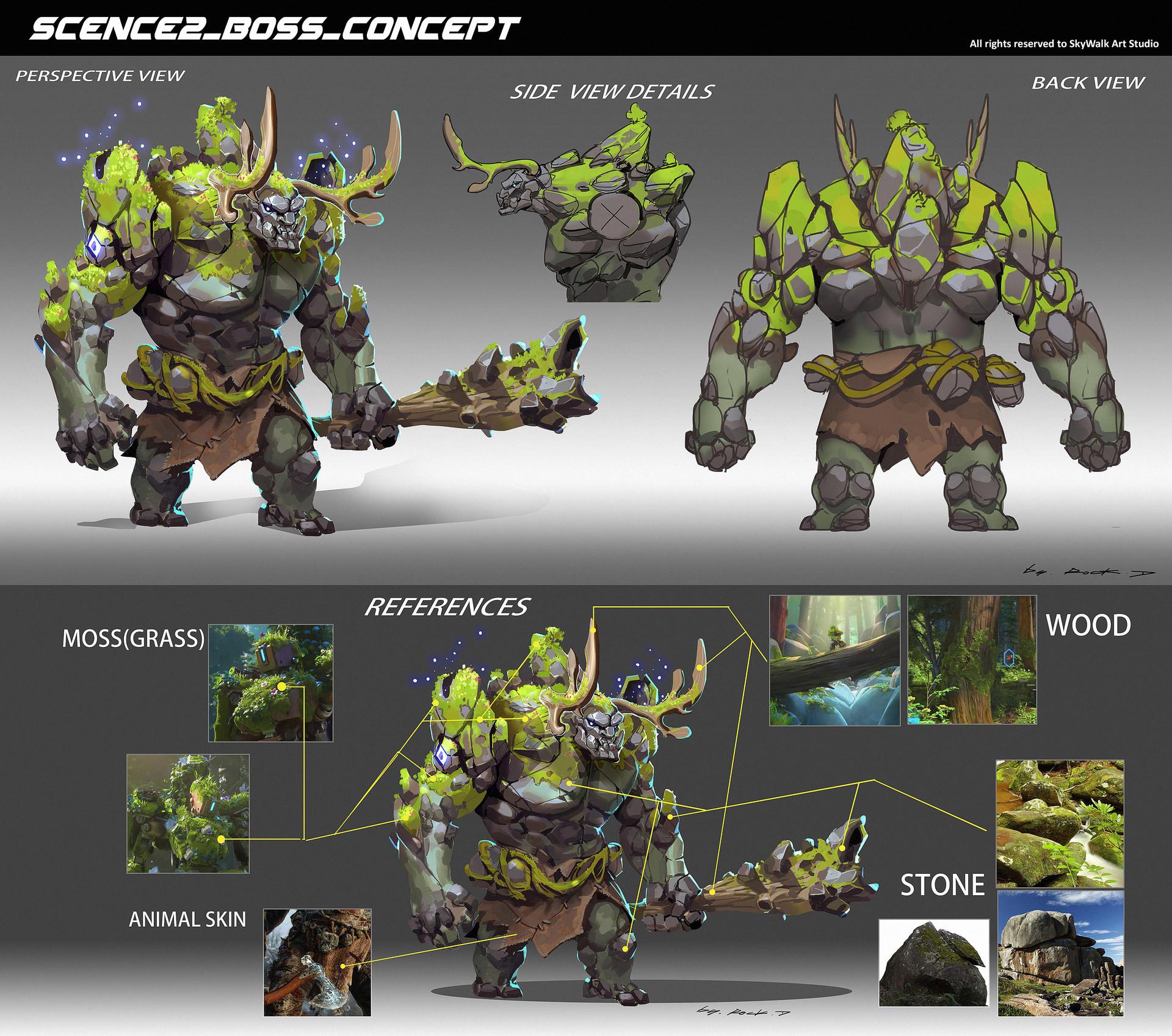 Rock d scence2 boss concept