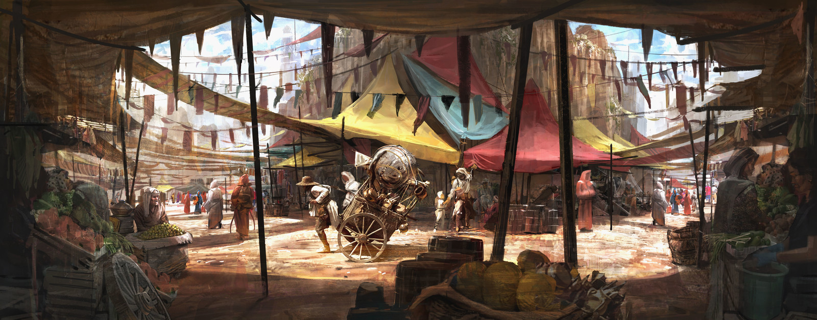 Sun Empire: Plateau Marketplace