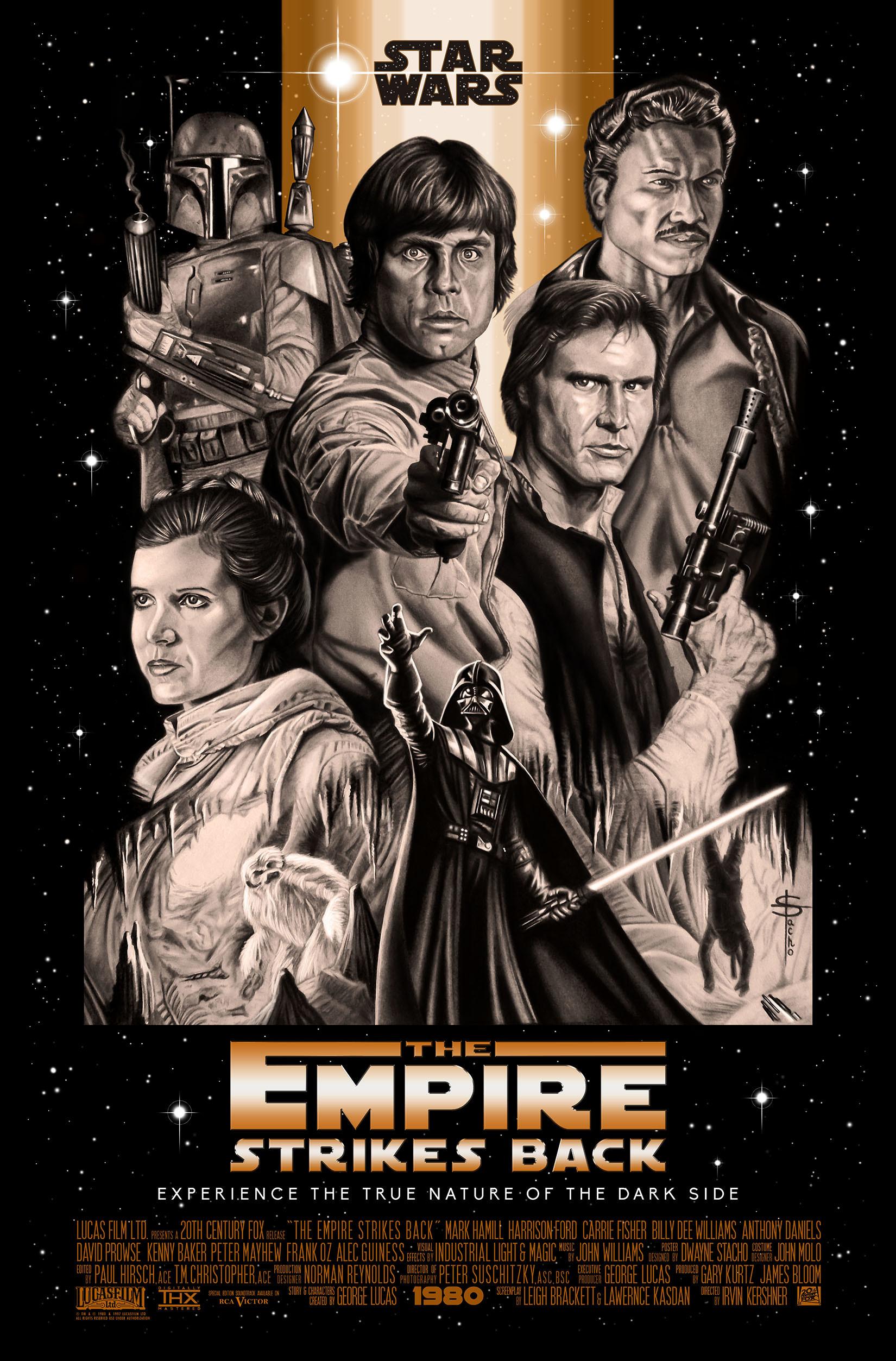 Dwayne stacho alternate star wars poster low res