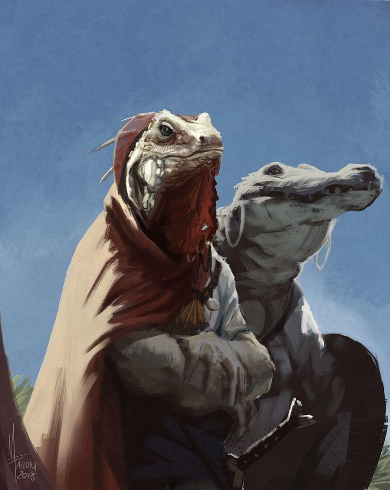 Haqir and Marduq, characters from www.facebook.com/HistoriaTheBook