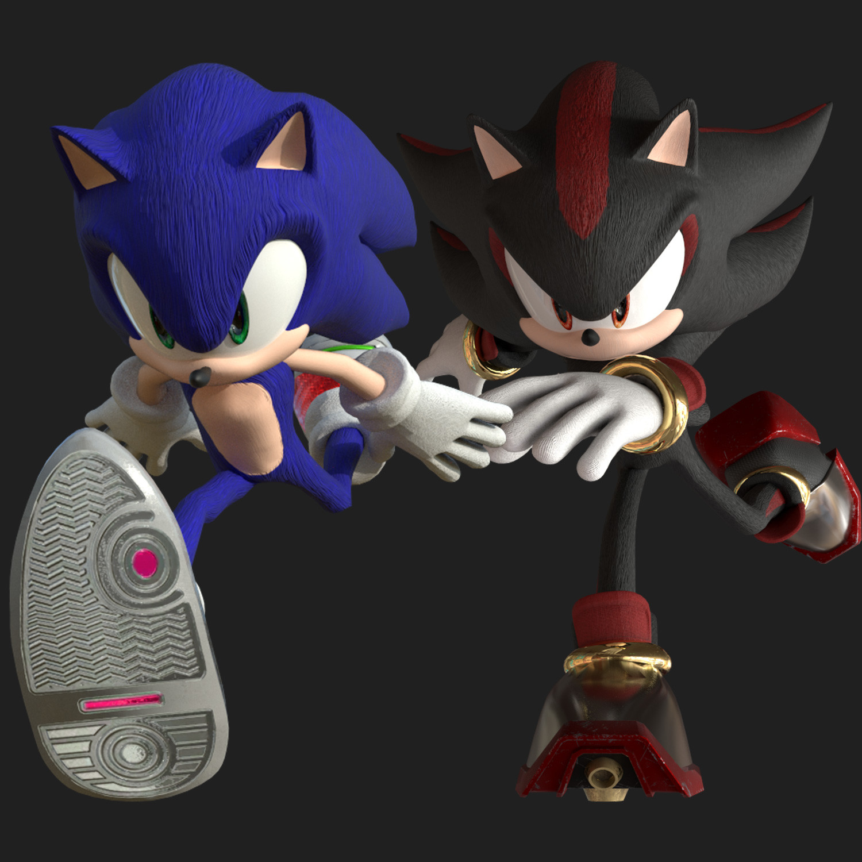 Artstation Sonic The Hedgehog Characters Ricardo P Da Silva