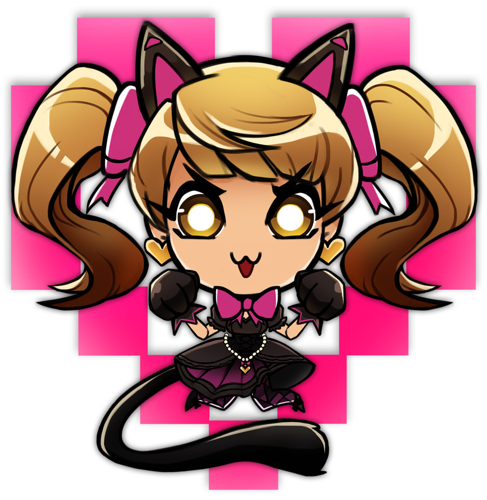 Black Cat D.va