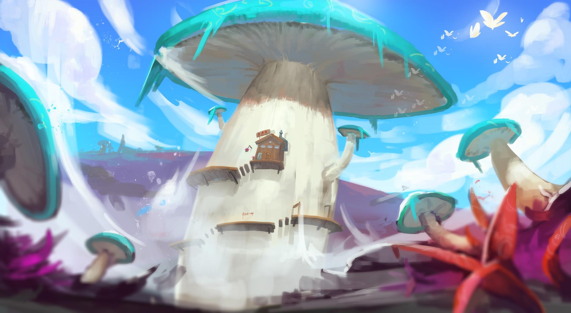 Jeff chen fantasy environment concept