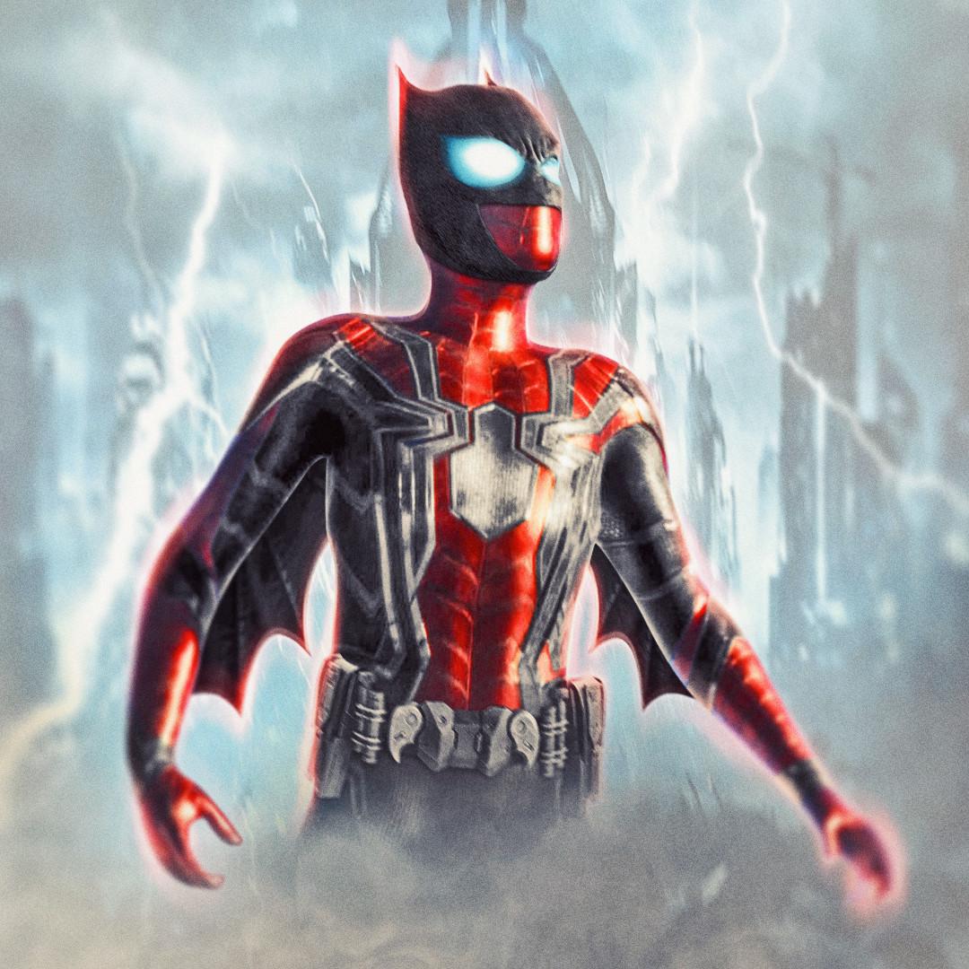 Spider-Man x Batman mashup