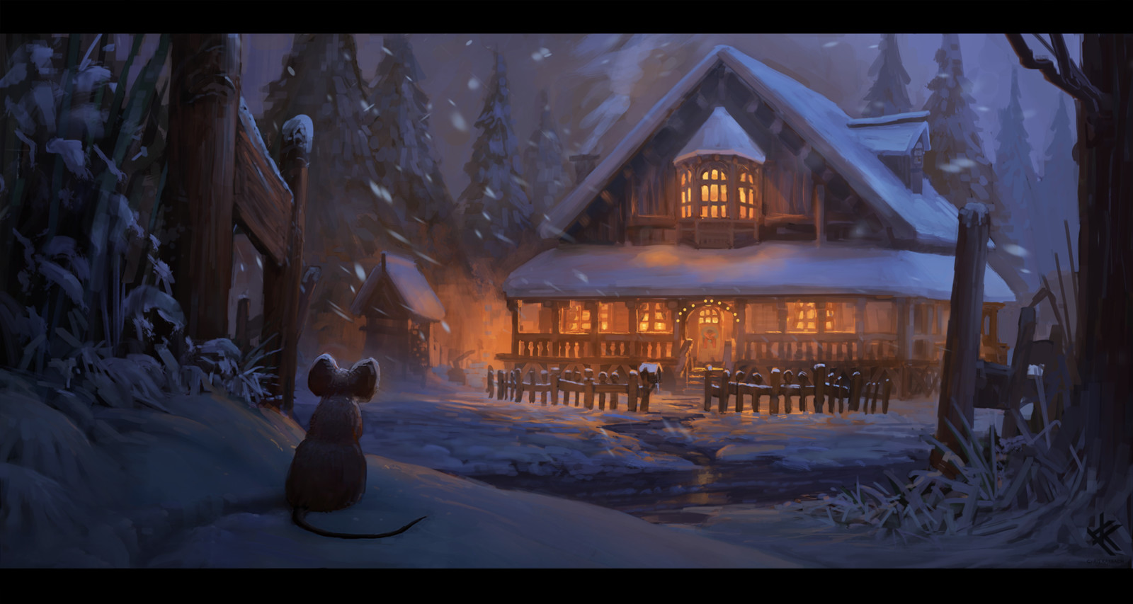 Muriel Mouse´s Christmas shelter