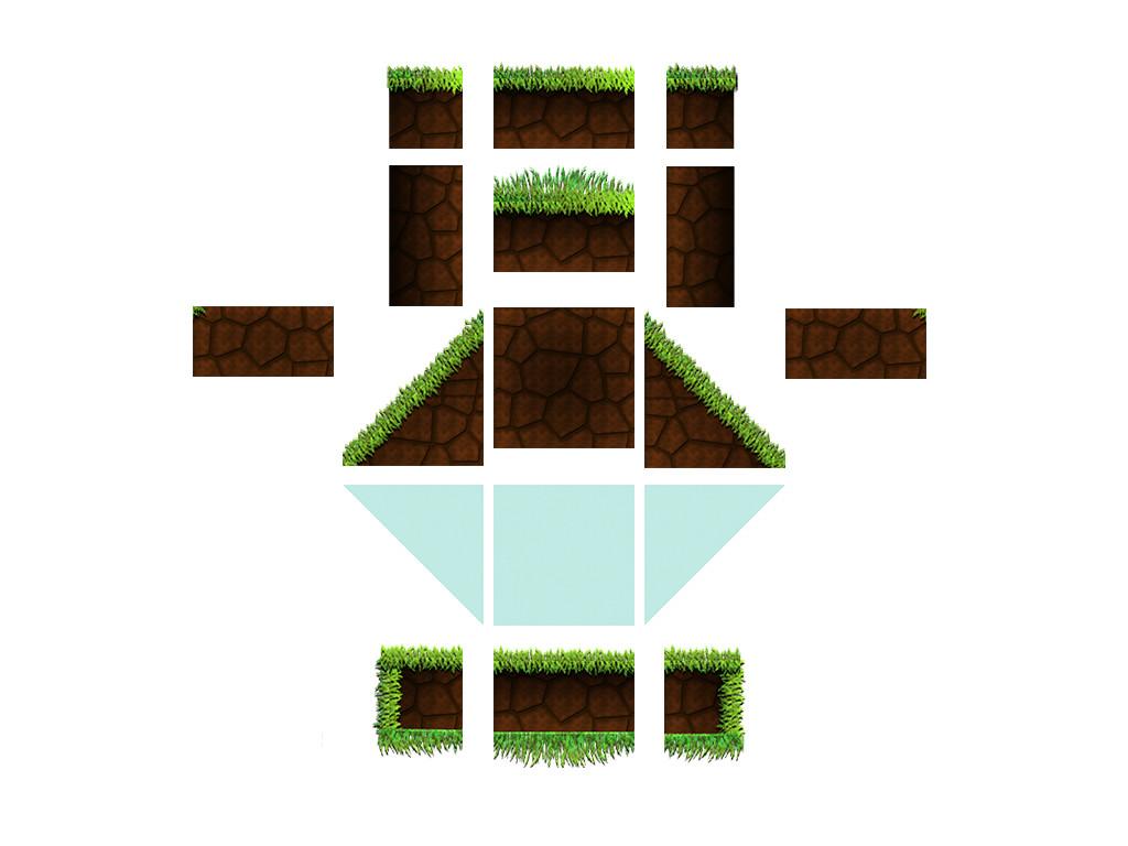 Forest level sprites (fixtures)
