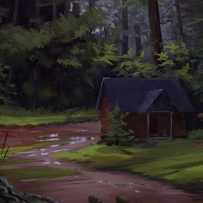 Mj venegas spadafora cabin woods2