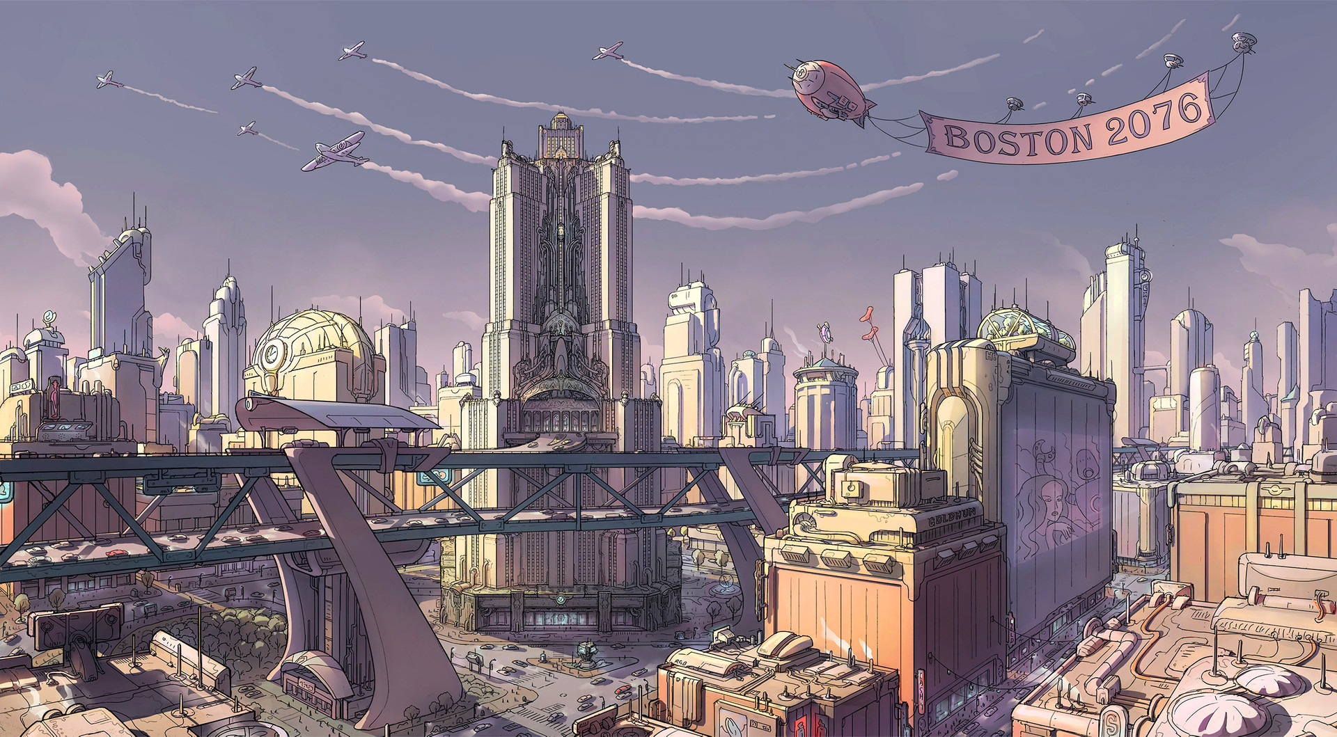 Fallout: Boston 2076 (Sunset Version) by Ilya Nazarov ...