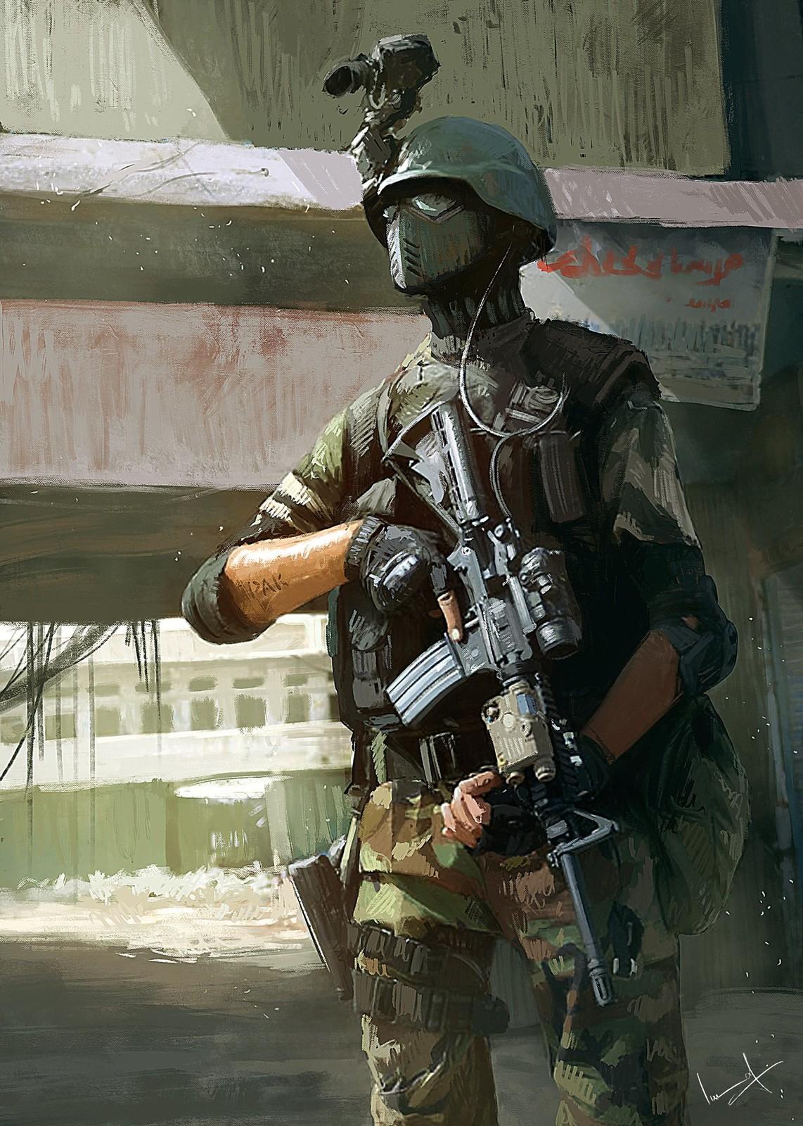 SSG Soldier