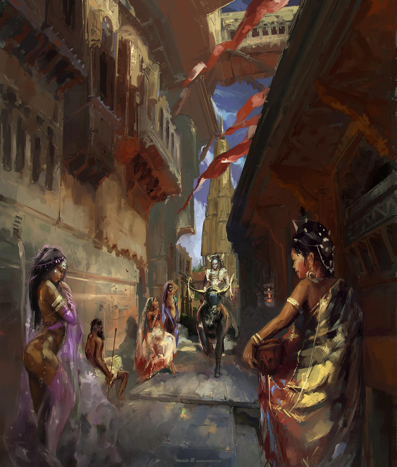 Shiva & Nandi