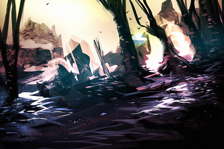 Benedick bana landscape study2 lores