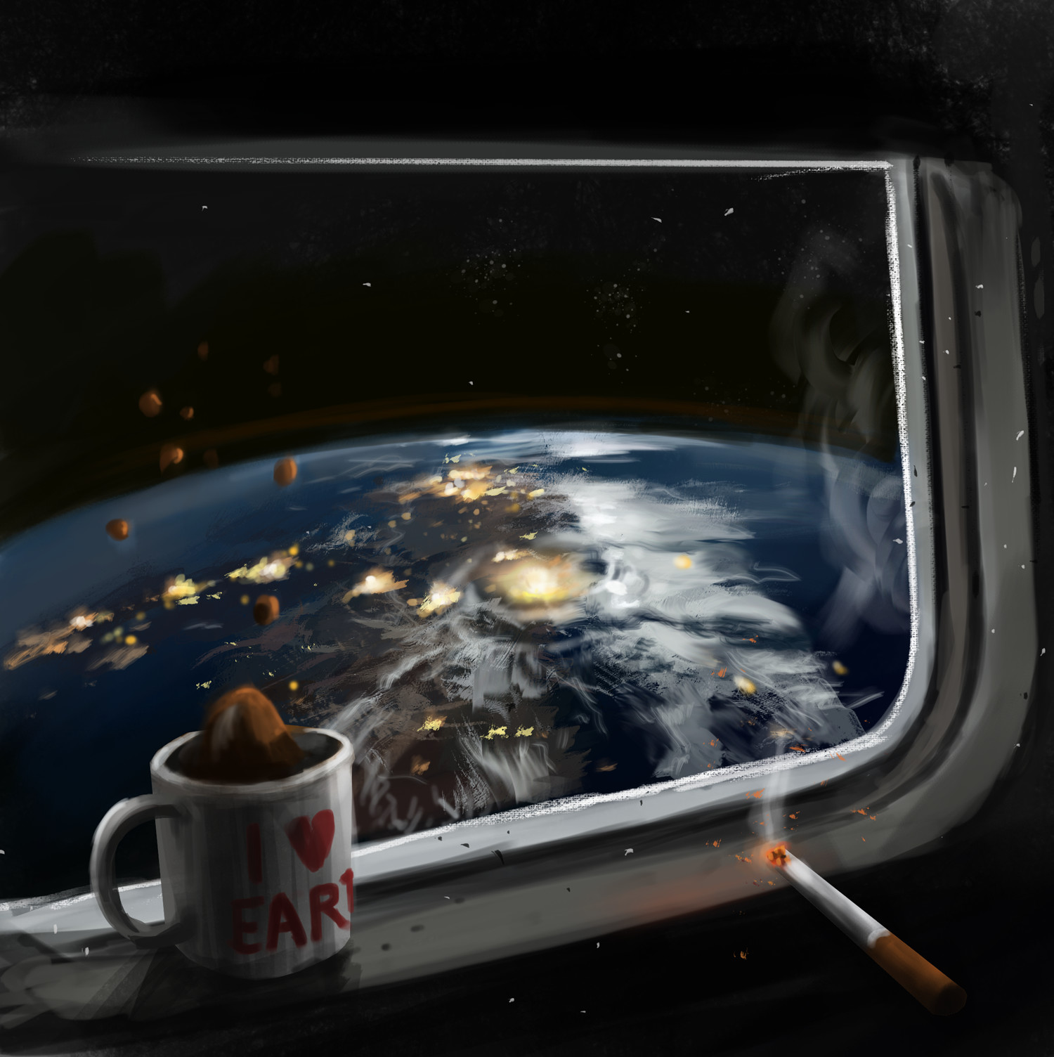 View from the orbit