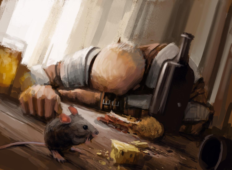 Sleeping enemy
