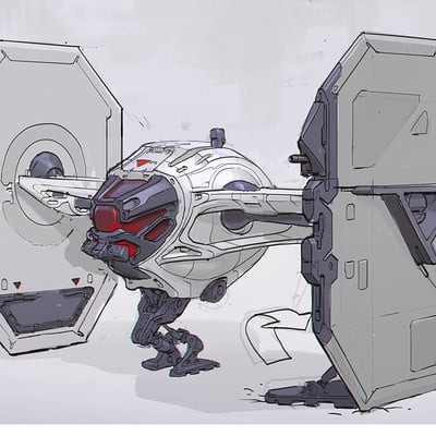 Michal kus star wars tie fighter designs