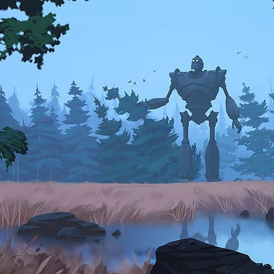 Anthony eftekhari iron giant web