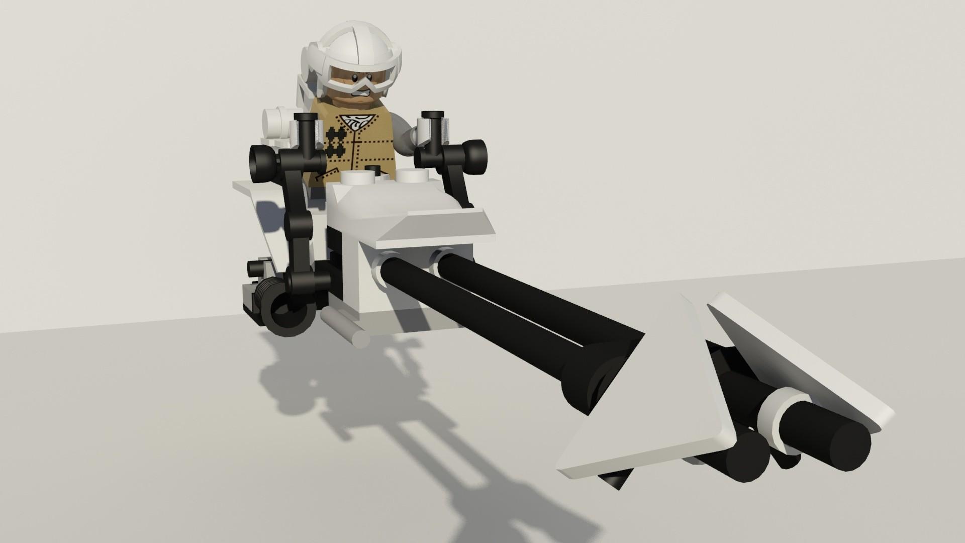 Lego Star Wars Speeder Bike Hoth