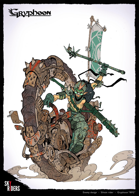 Sky riders elf rider2