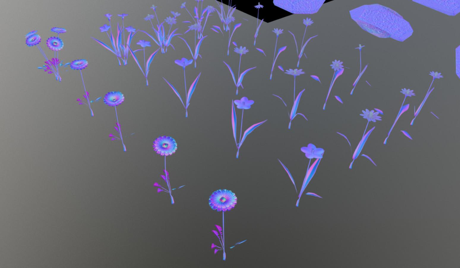 Flowers-Normalmap