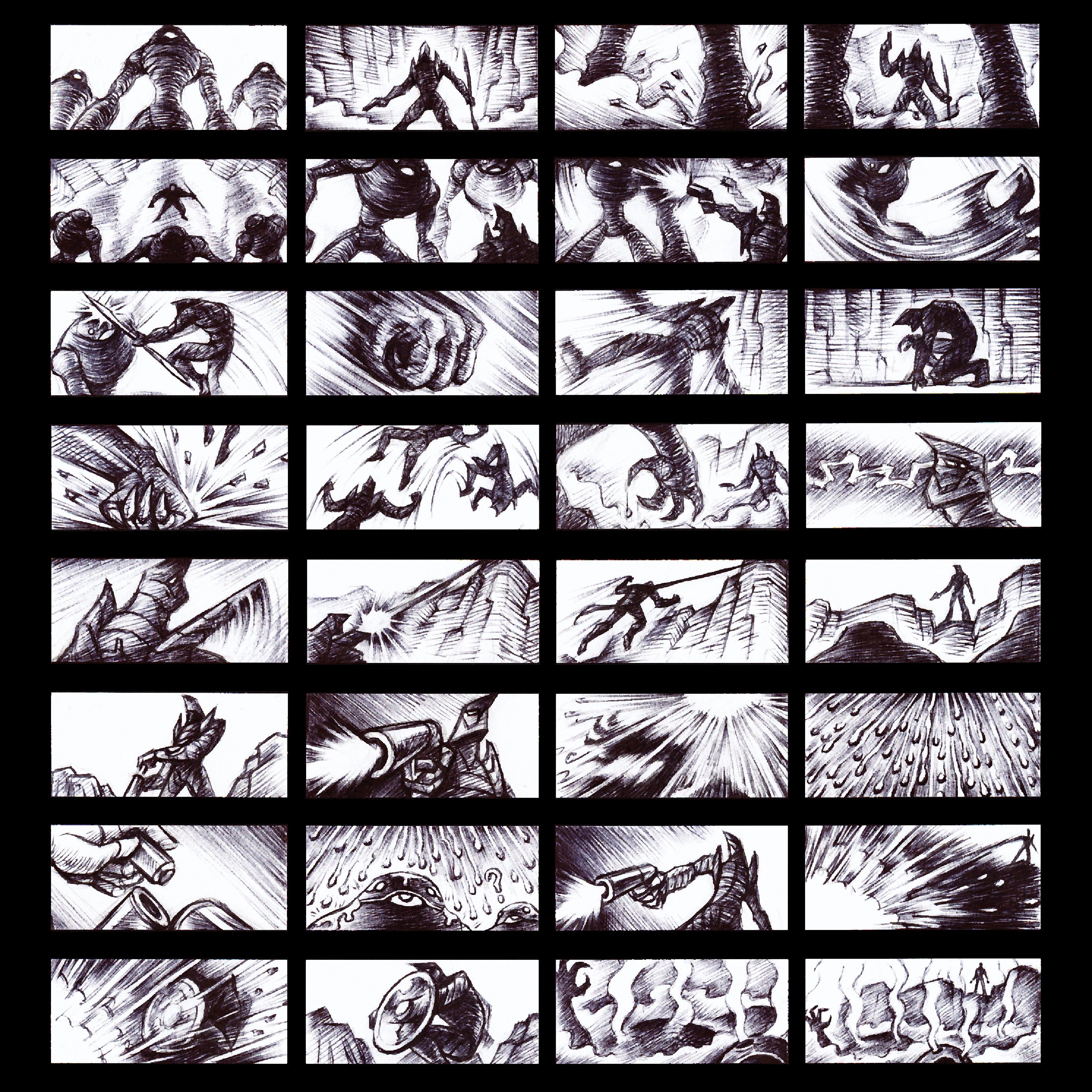 (2007) Storyboard: Hyphaland