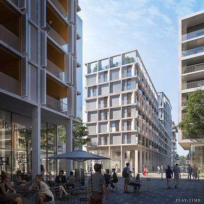 Play time architectonic image oab habitatges niza franca 03