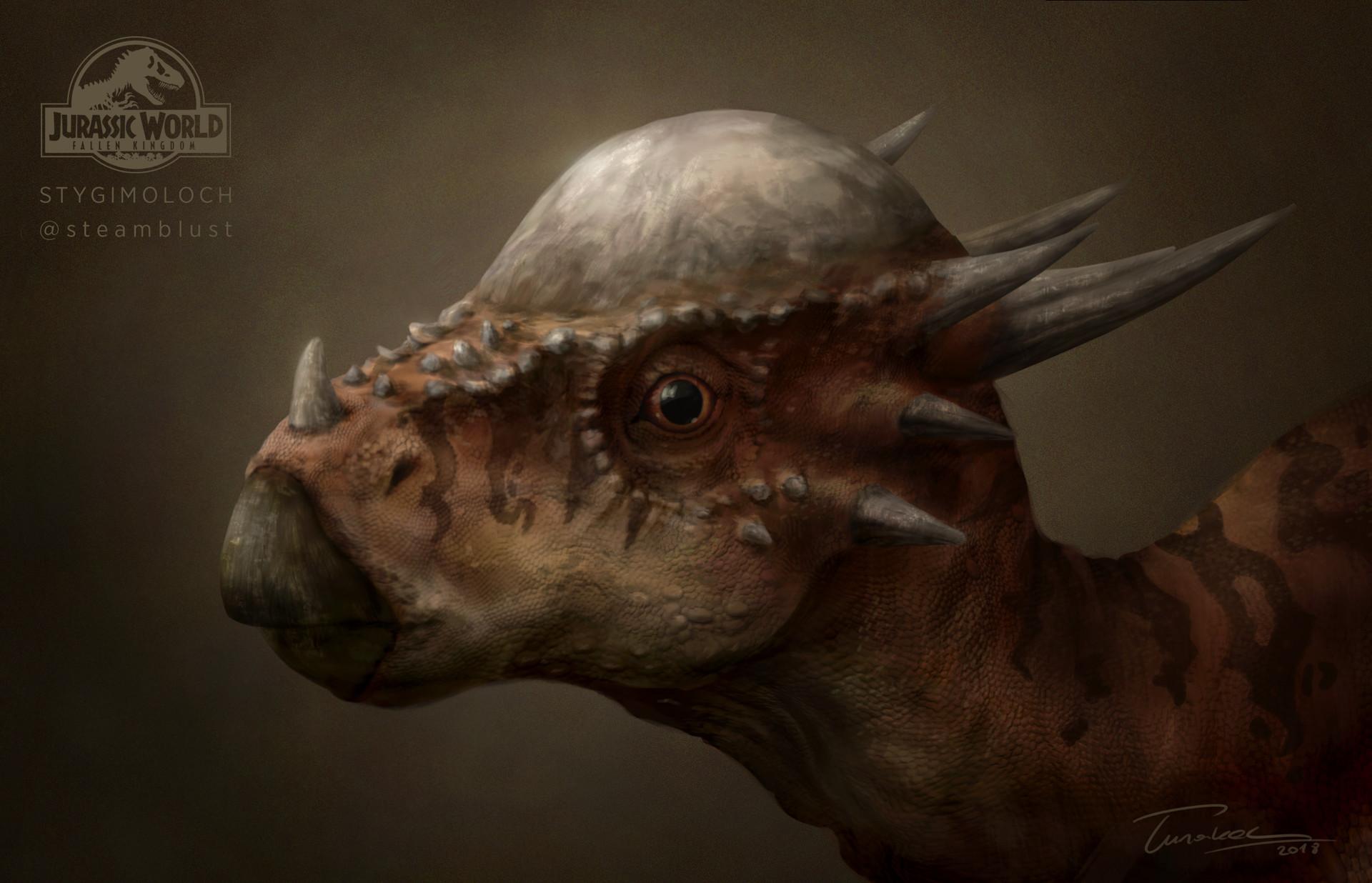 Image result for stygimoloch fallen kingdom