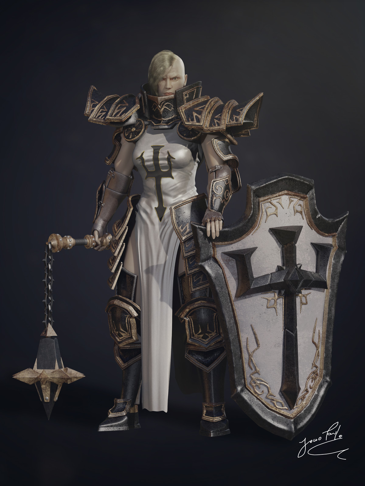 Johanna, the crusader |Fanart - Blizzard games