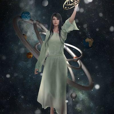 Gechunyi wang star goddess by gechunyi wang