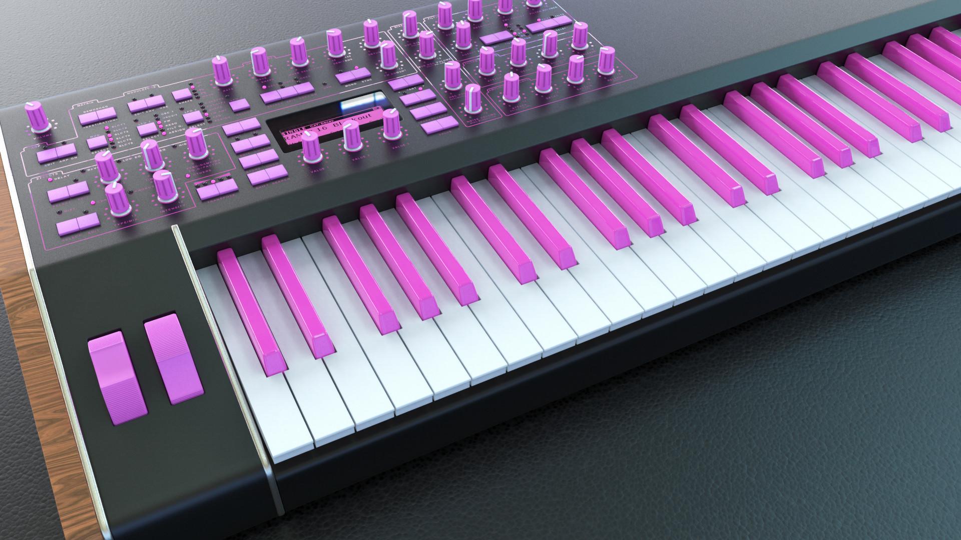 Josh mccann analoguekeyboard pink001