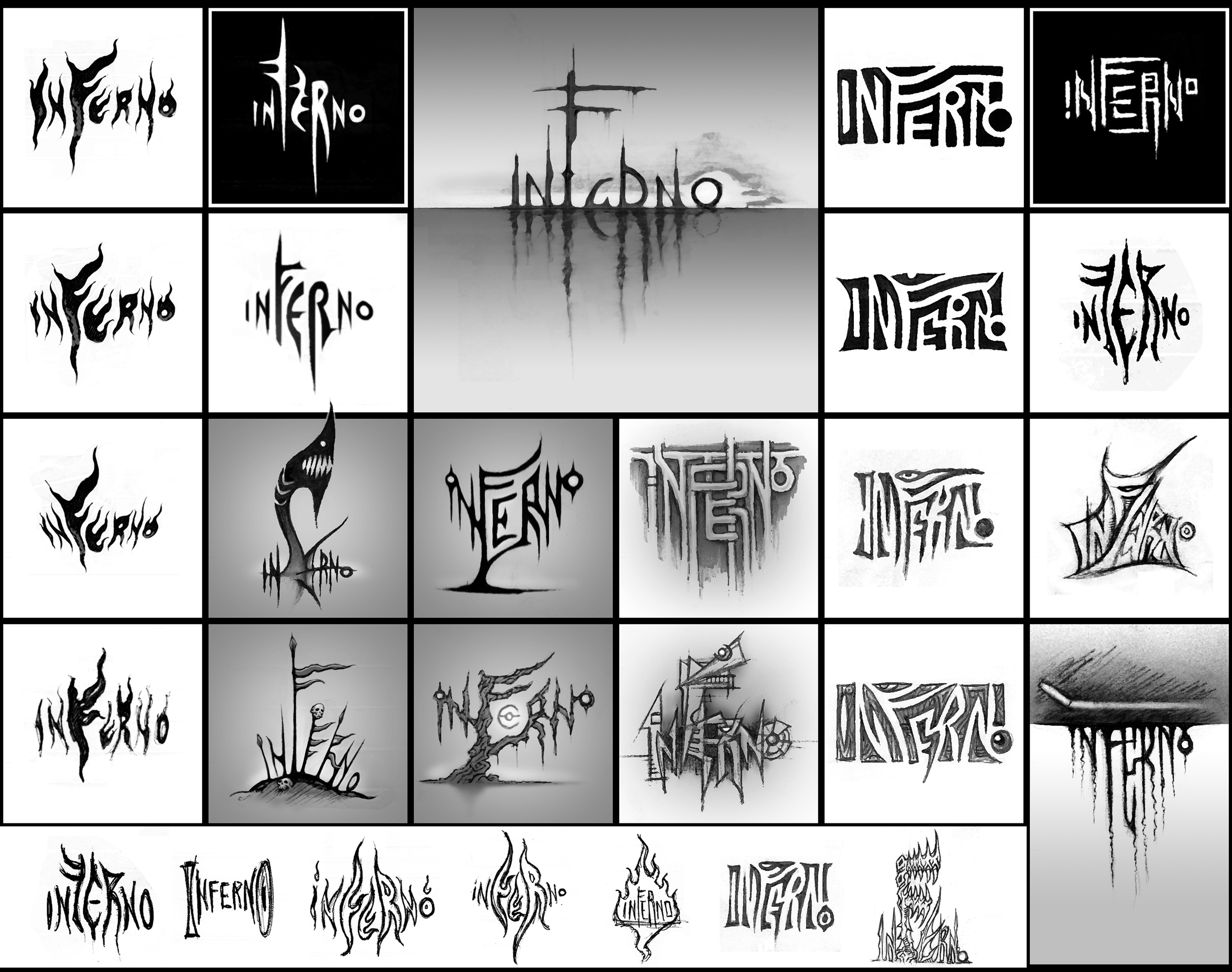 (2009) Logo: Inferno Variants I