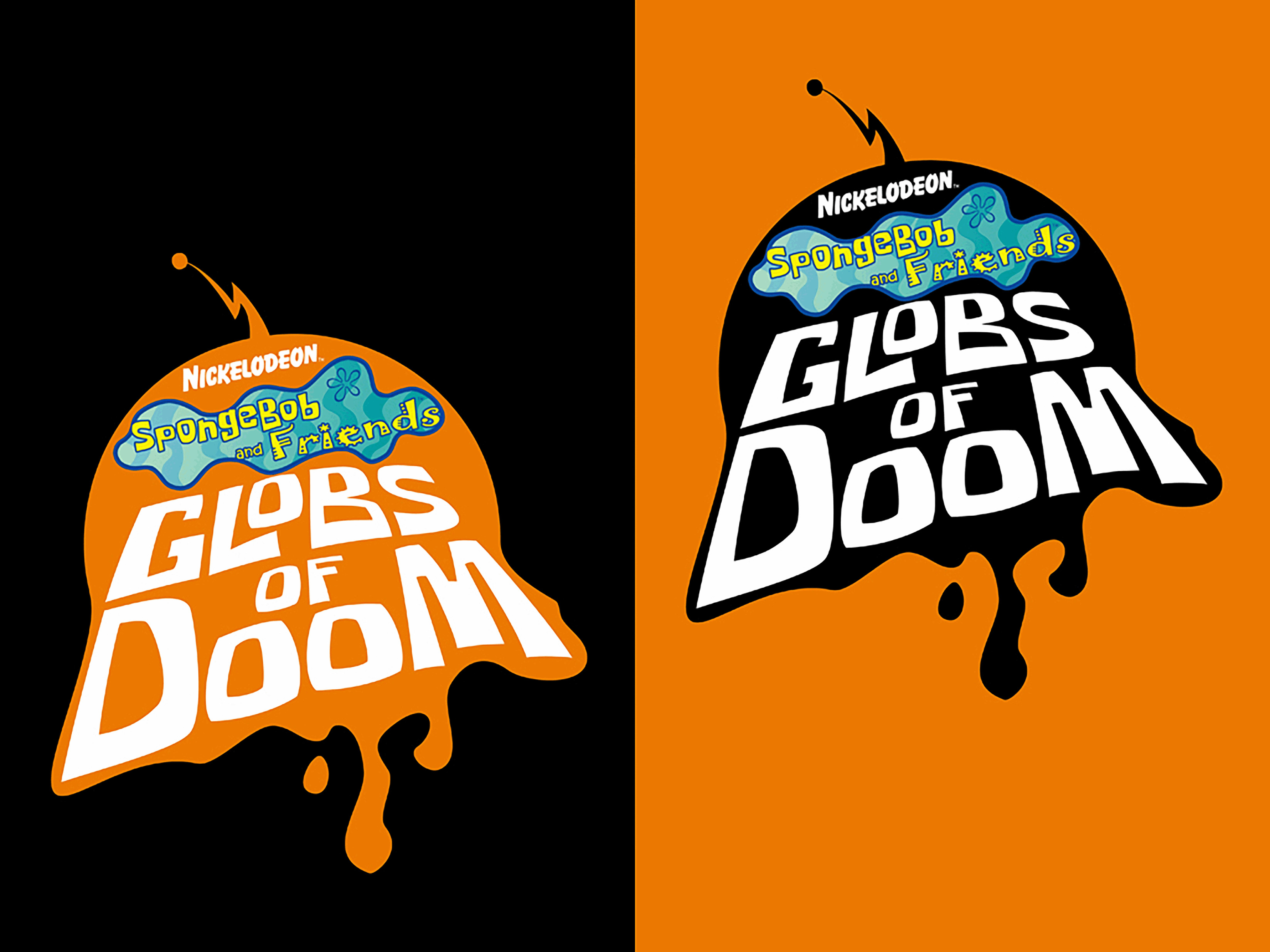 (2007) Logo: Globs of Doom Prototype
