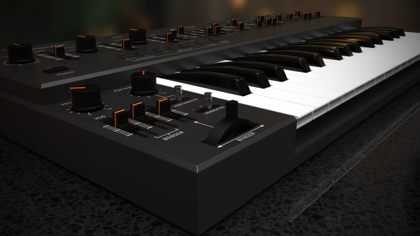 Synthesizer Render
