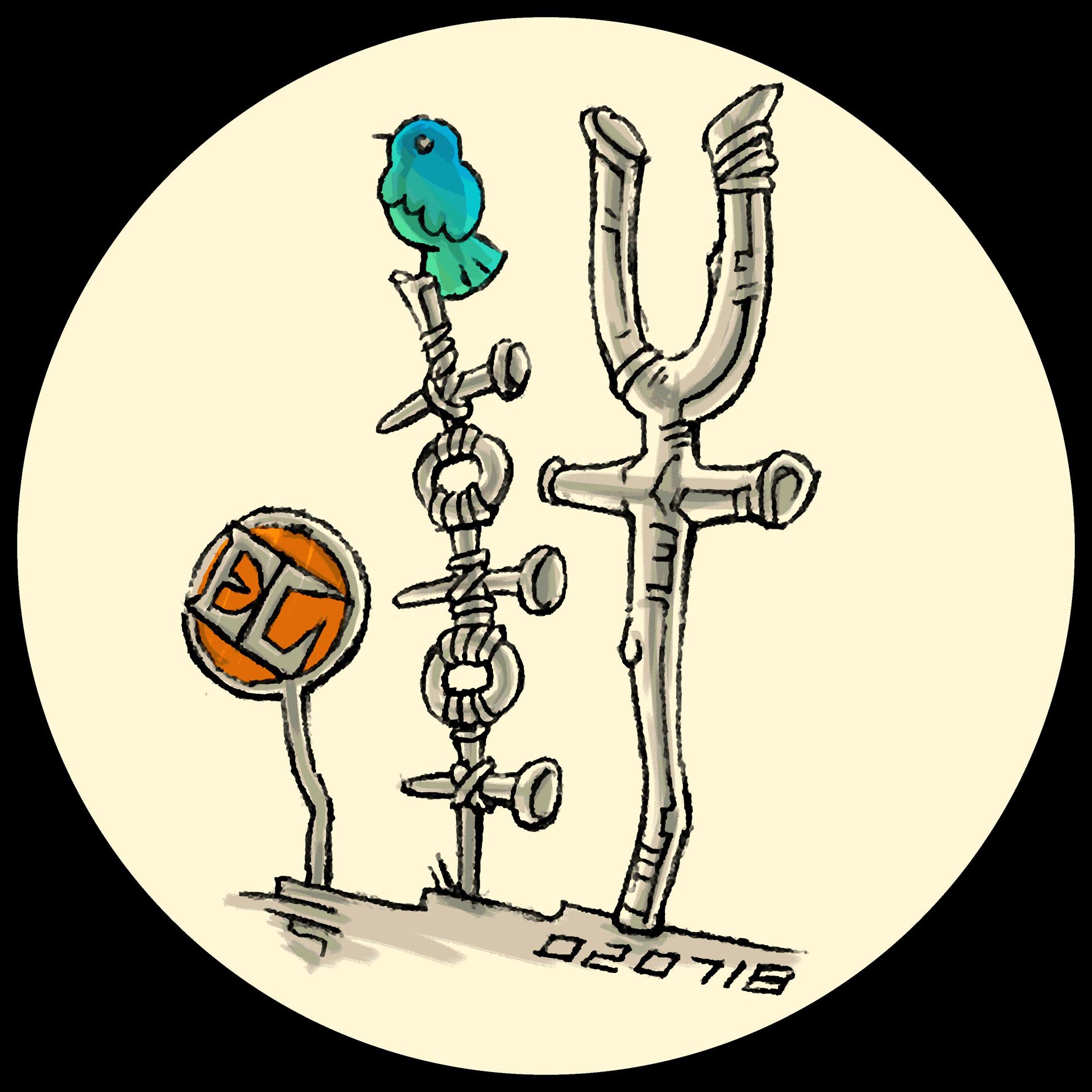 (2018) Logo: ELynx 軒 II + Blue Bird