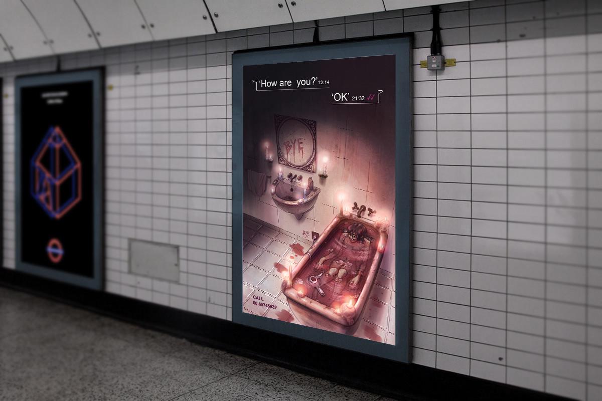 Sara ruiz prado metro advertising