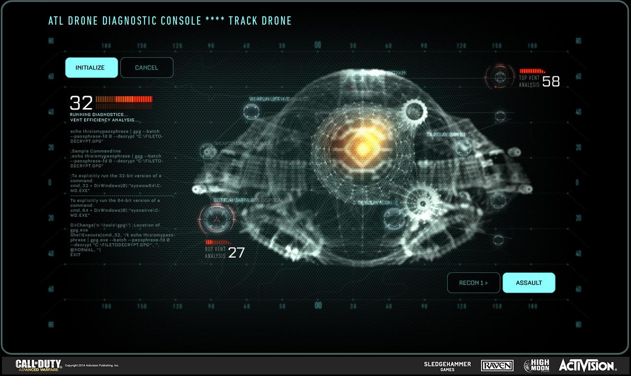 Artstation Misc Call Of Duty Advanced Warfare Work Dean Serio