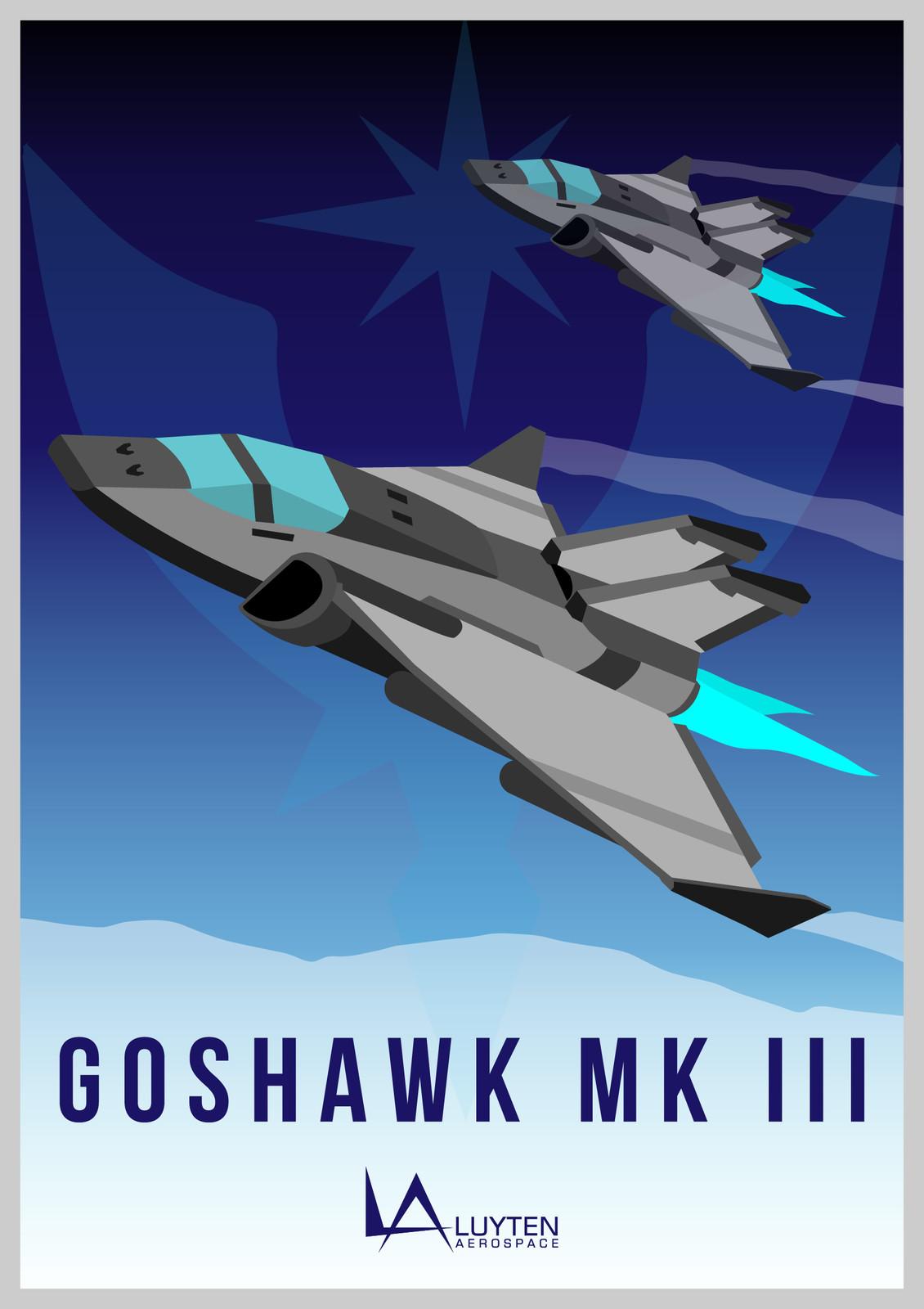 Altair (Novel) - Luyten Aerospace: Goshawk MK III
