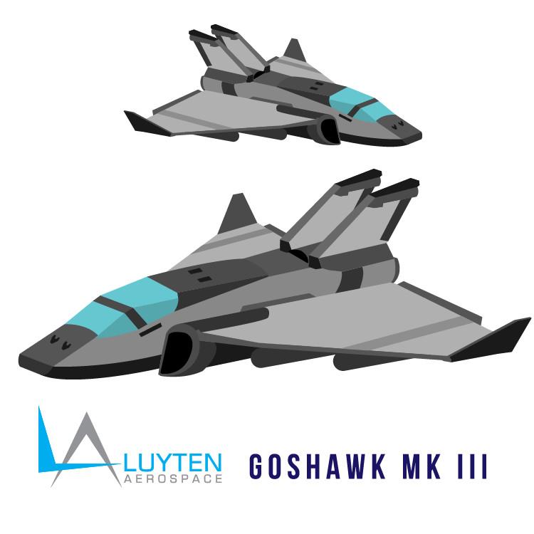 Goshawk MK III Vectored