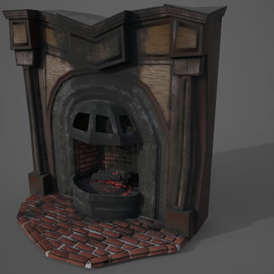 Perdition - Fireplace