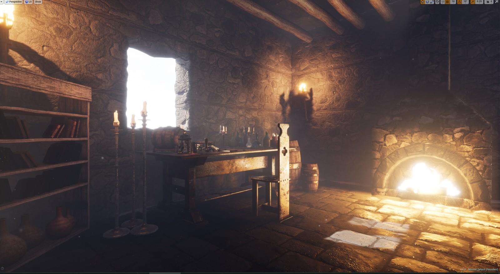 The Elder Scrolls 2: Daggerfall - Fan Art (Unreal Engine)