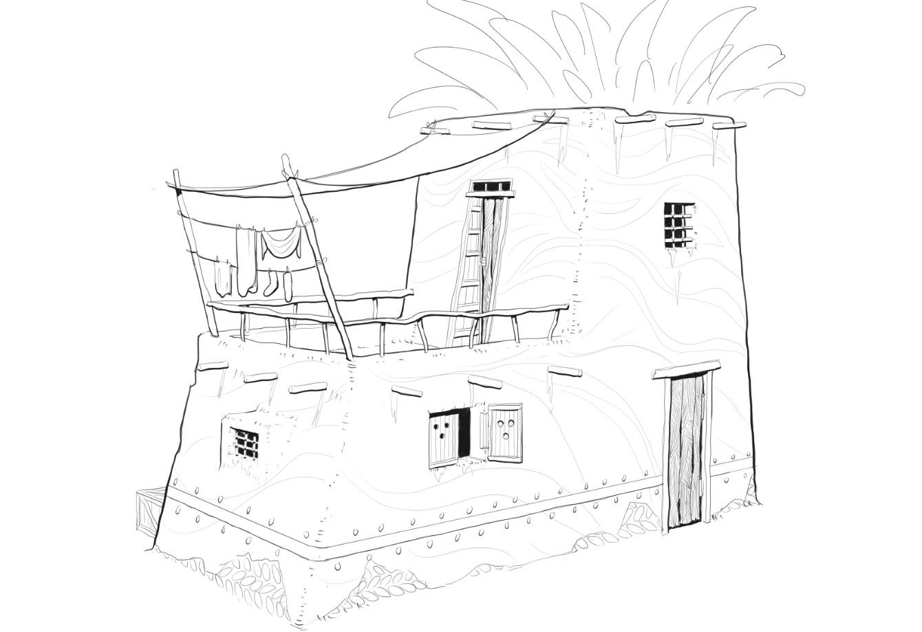 2-floors residence