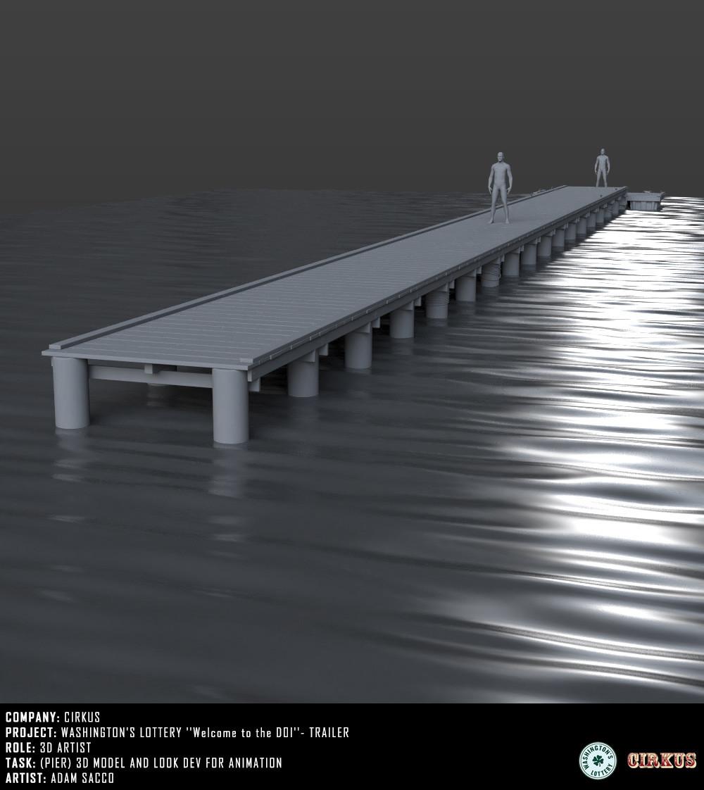 Pier - 3d model