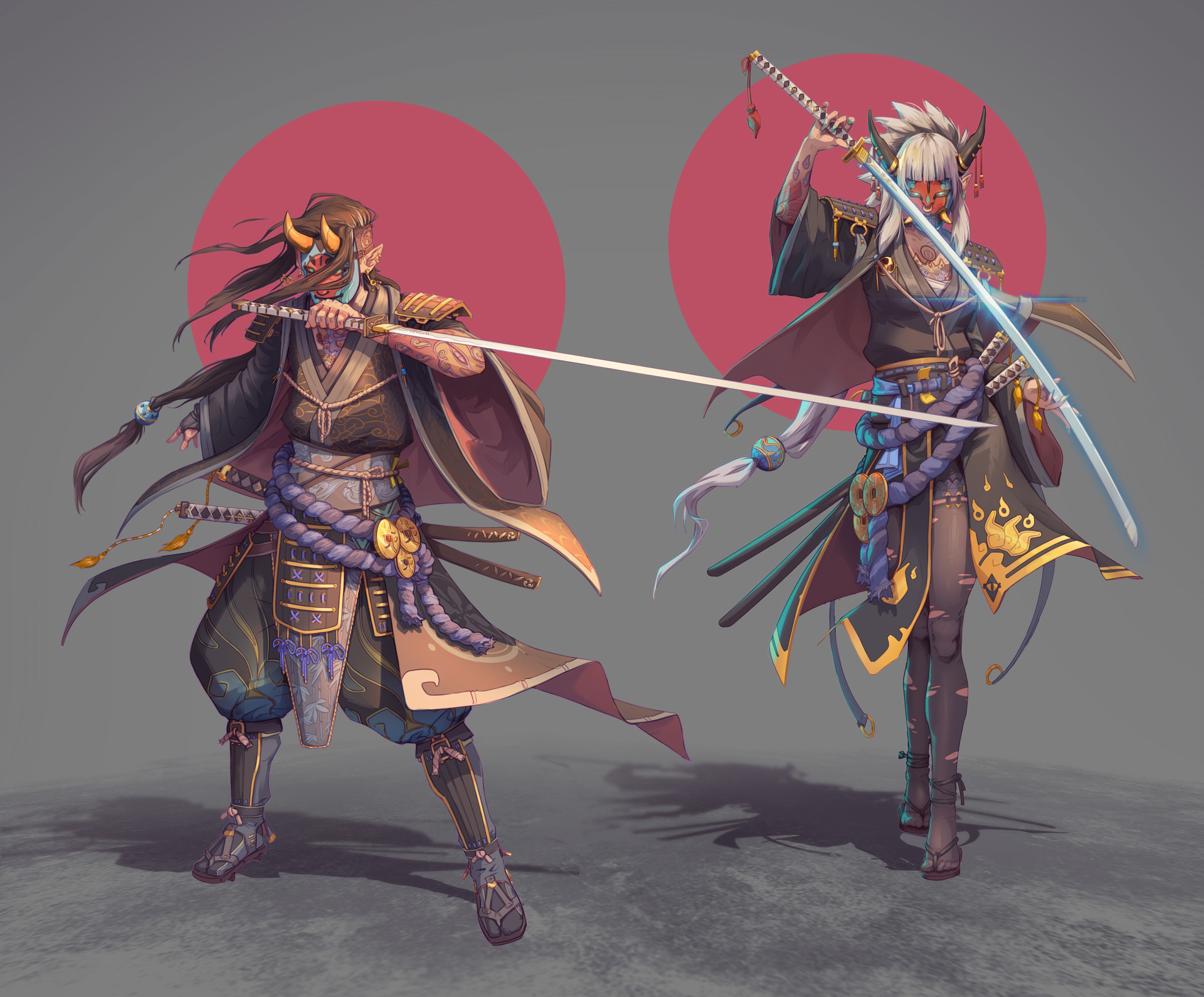 Nico fari samurai