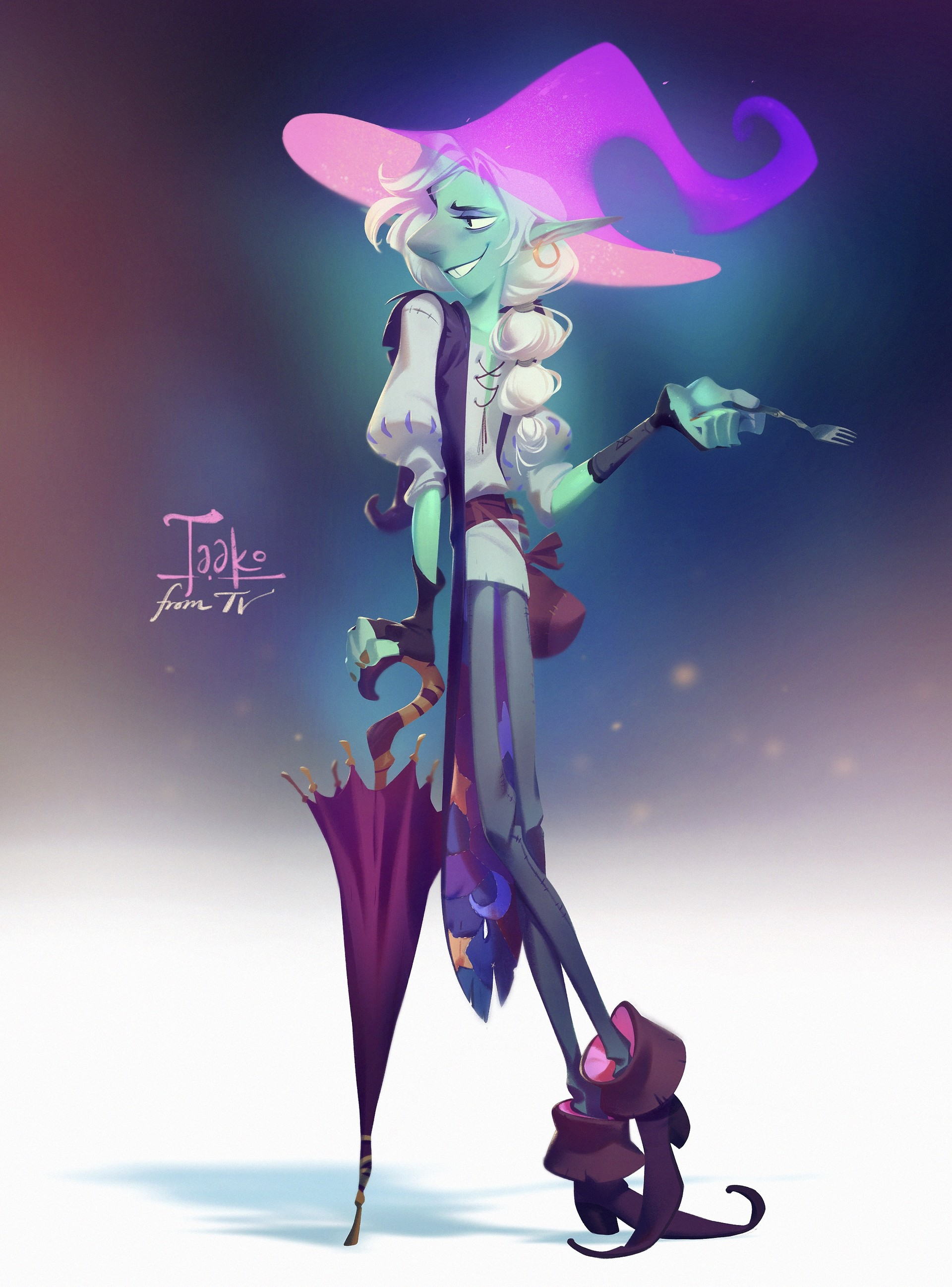 ArtStation - Taako From TV, Nicholas Kole
