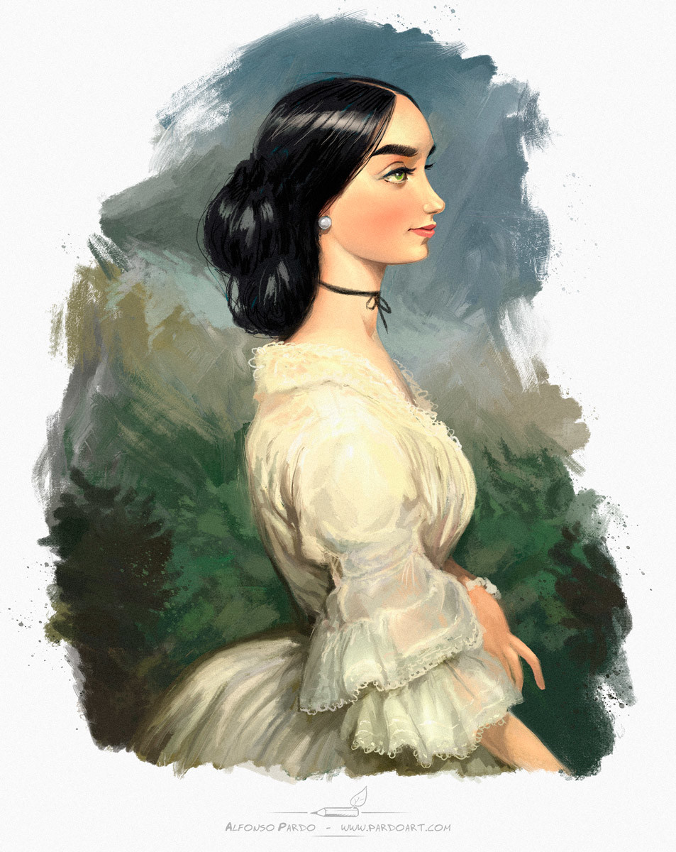 Alfonso pardo martinez dama victoriana
