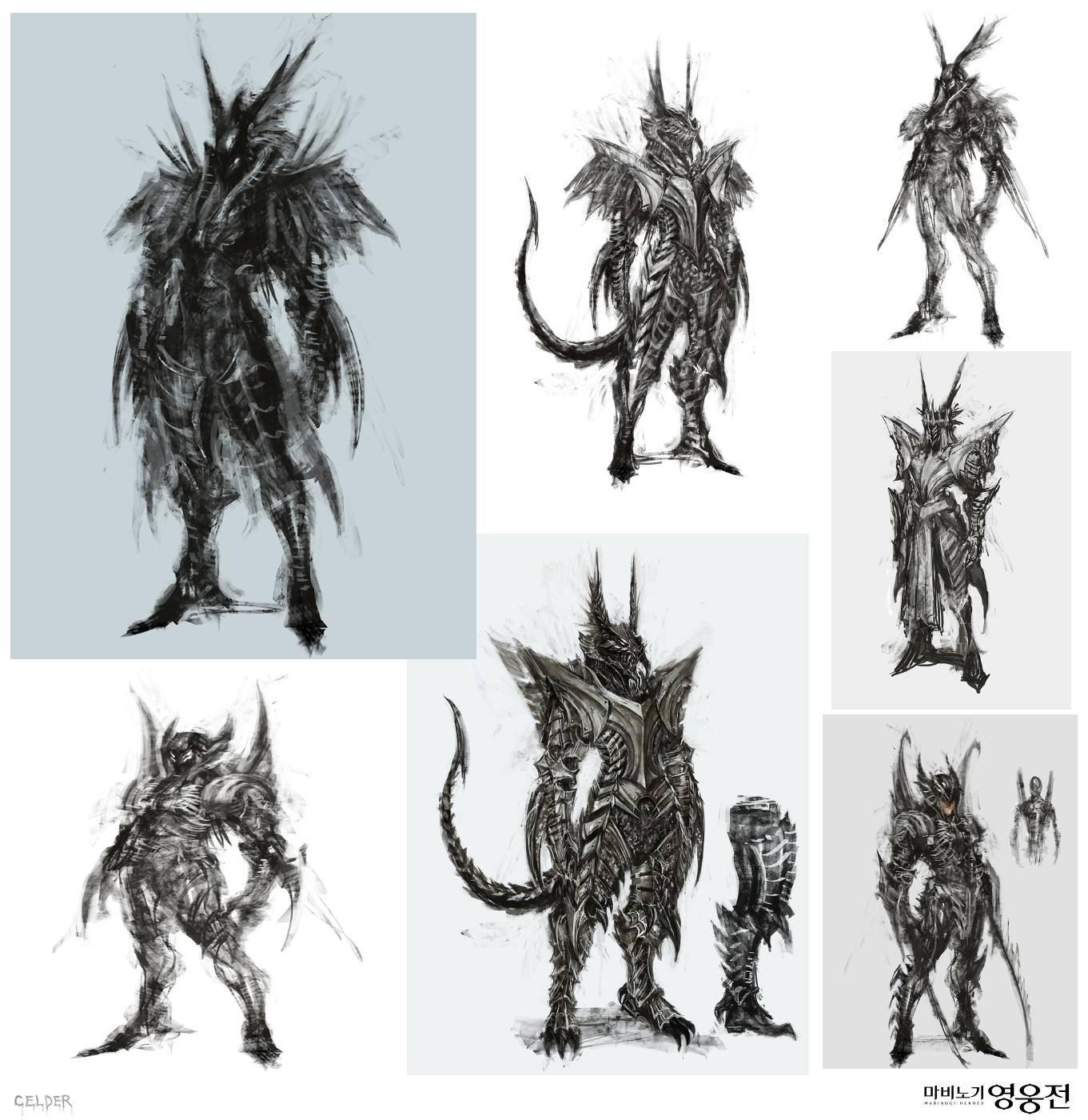 Artstation Dragon Armor Celder Art Whole model took about 1 month in total o.o. artstation dragon armor celder art