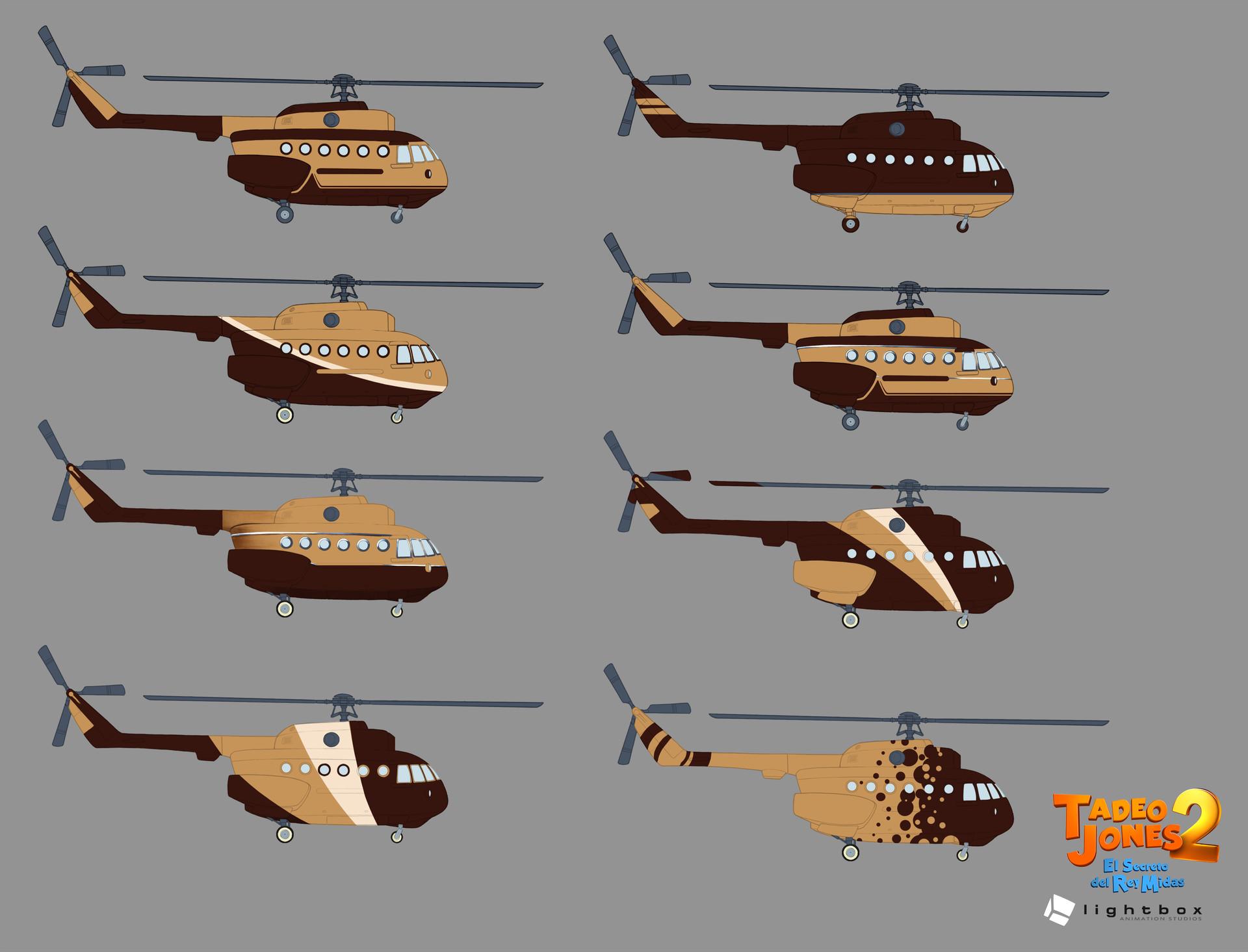 Angel oromendia helicopterpruebaspintura