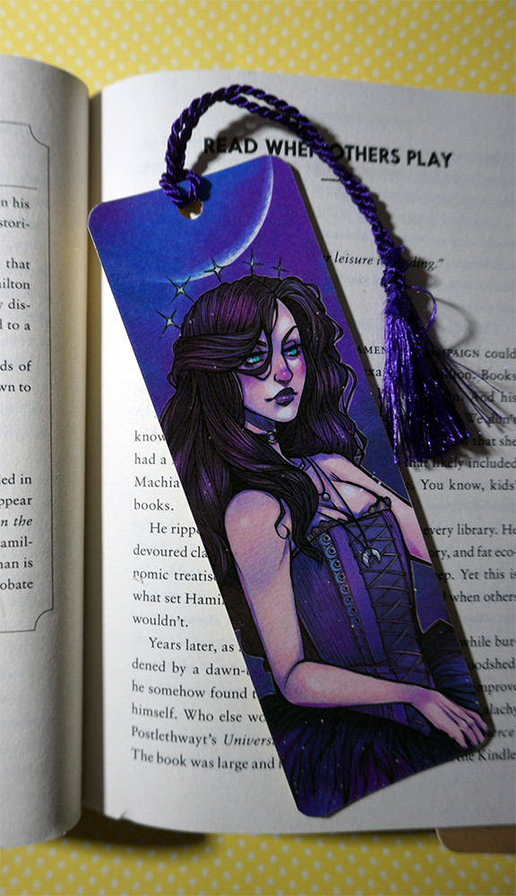 Mellanie chafe moonseer bookmark1