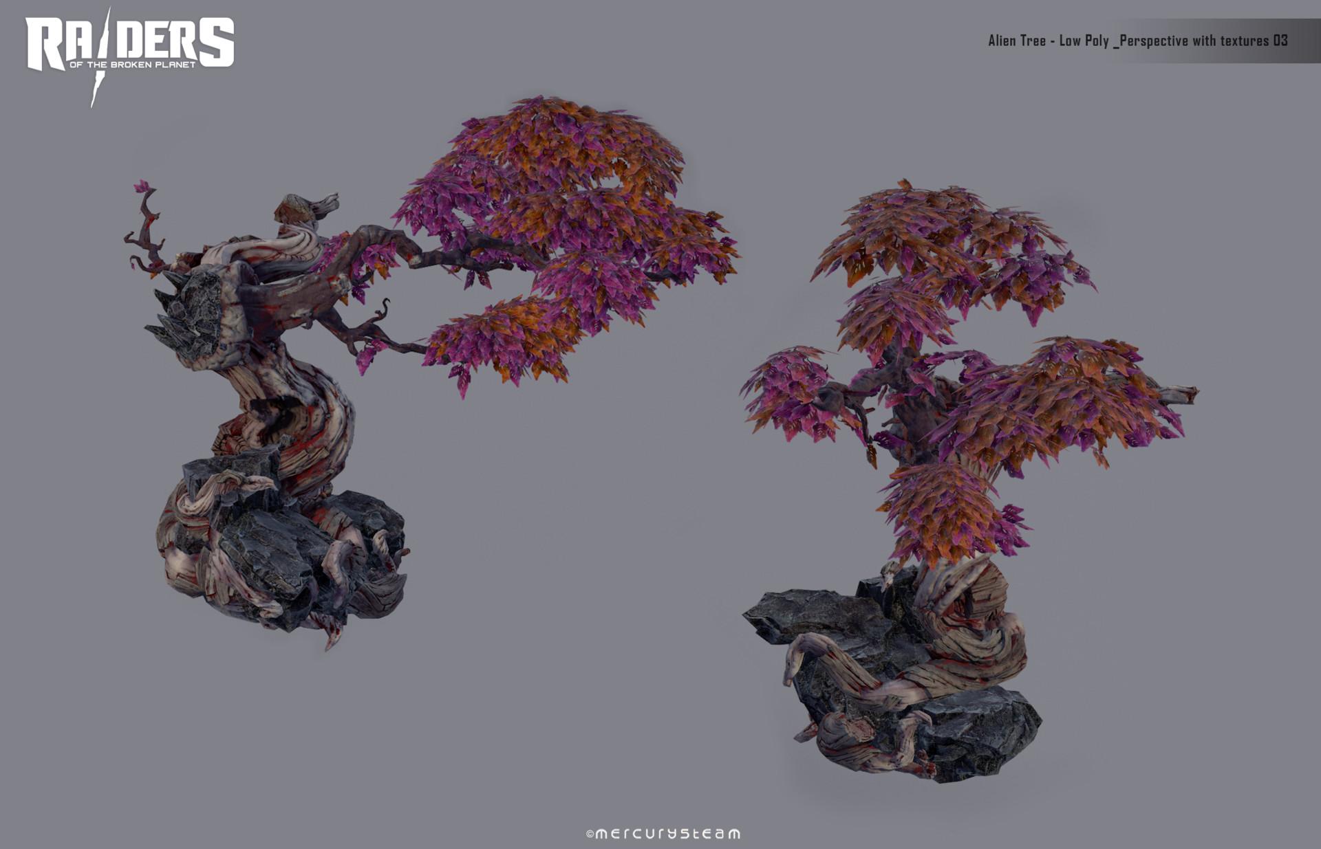 ArtStation - Alien Tree, Xose Geada