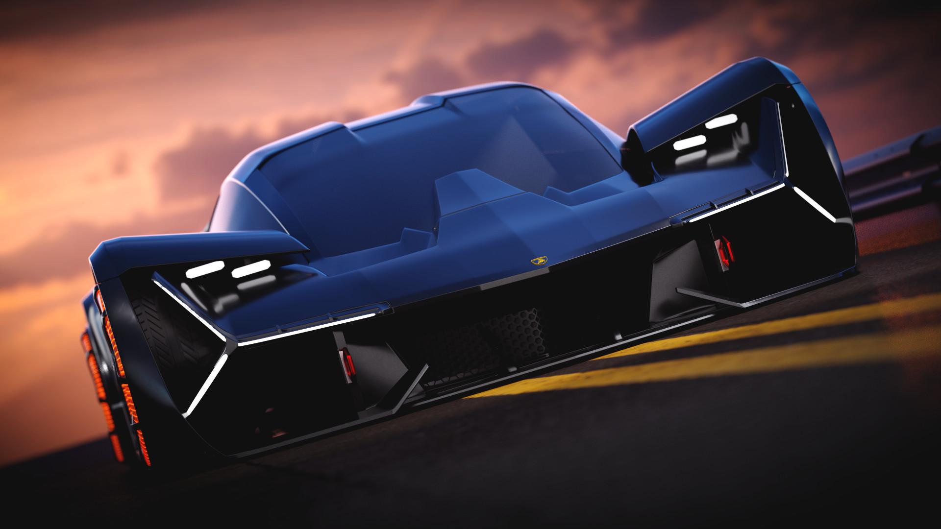 Naman Deep Lamborghini Terzo Millennio